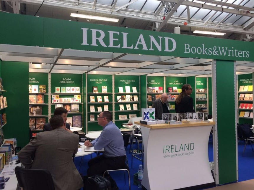 Ireland's national stand at the London Book Fair 2018
